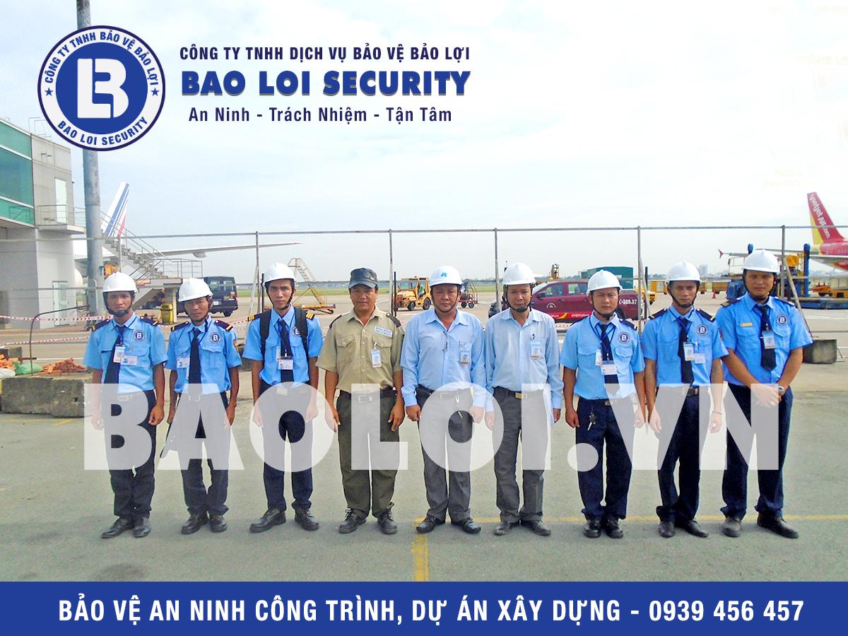 Nhân viên Công ty TNHH dịch vụ bảo vệBảo Lợi